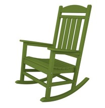 POLYWOOD Presidential Rocker in Lime - $358.00