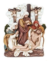 9.25 Inch Stations of The Cross Dying Christ Statue Figurine - $35.63