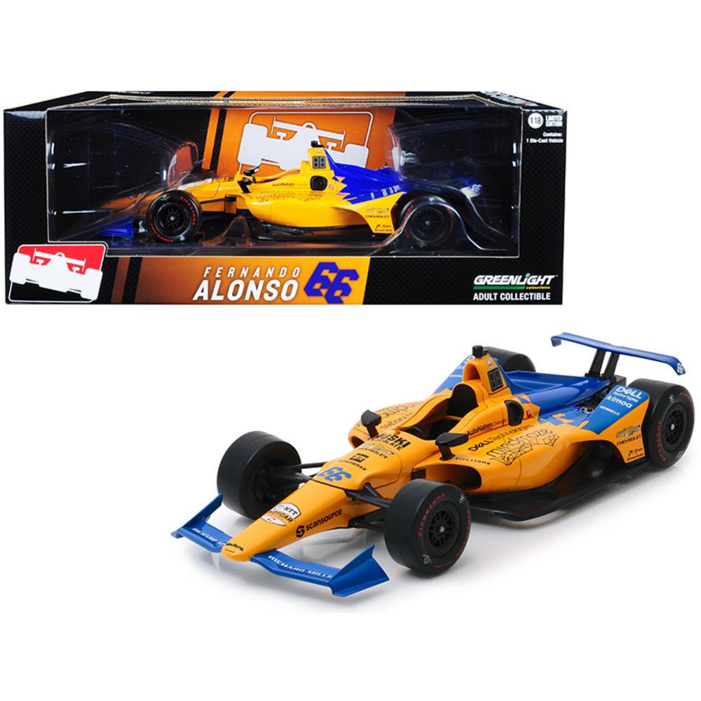 Dallara Indy Car #66 Fernando Alonso Dell Technologies Mindmaze McLaren Racing 1