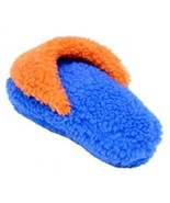 Coastal Pet Products Rascals Fleece Slipper Squeaky Dog Toy, 8 , Blue/Or... - £12.02 GBP