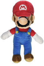 Nintendo Super Mario Soft Plush Doll 8 Inches- MARIO NWT. Licensed plush. - $11.28