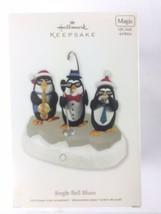 2011 Hallmark Keepsake Ornament Jingle Bell Blues Magic Light Sound Motion - $18.80