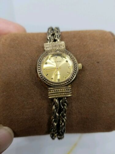 Vintage Tecnibond Ladies Watch Gold Rope Runs image 5
