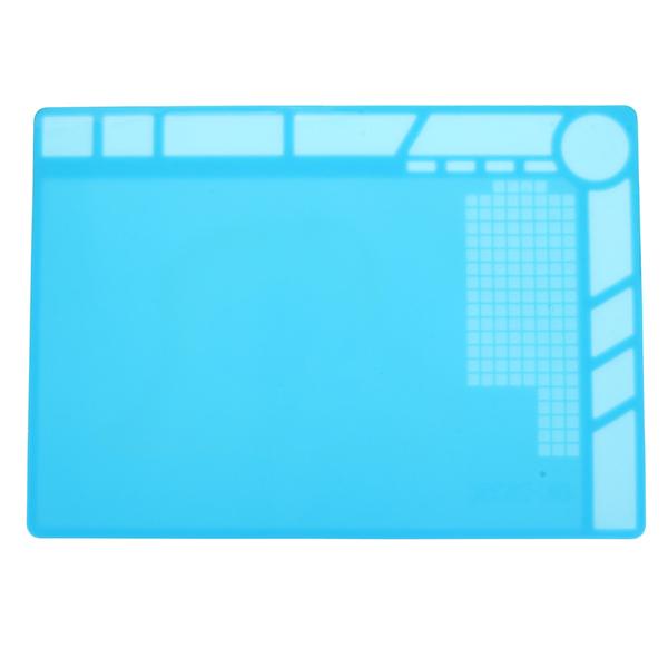 Heat Insulation Silicone Pad Desk Mat Repair Soldering Station Maintenance Platf