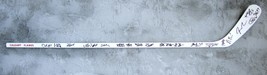 2015 Calgary Flames team signed hockey stick w/coa Stanley Cup Playoffs ... - $174.99