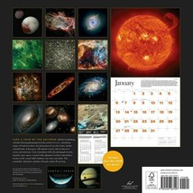 NEW 2019 Sealed 12x12 Earth and Space Astronomy Wall Calendar by Chronicle Books image 2