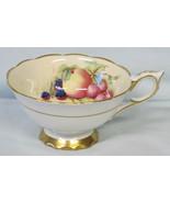 Royal Stafford Harvest Tea Cup Only Artist Signed - $22.66