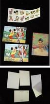 Disney 3d Flicker Postcards & Stickers Lot Mickey Mouse Jungle Book Mowgli - $19.99