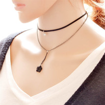 STYLISH LILLY CHOKER NECKLACE   >> COMBINED SHIPPING <<  (11458) - $3.25