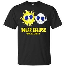 2017 Solar Eclipse Tee - Kids Cartoon Emoji Shirt - ₨1,622.97 INR+