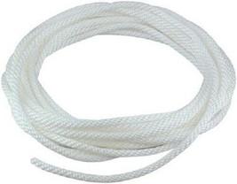 """5/16"""" Braided White Nylon Flagpole Halyard (Rope) - $9.89+"""