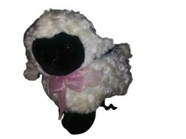 Dan Dee Collector's Choice White Lamb/Sheep Plush Stuffed Animal Cuddle Toy  - $9.89