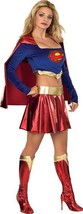 SEXY SUPER GIRL COSTUME SIZE SMALL 6-10 - $55.00