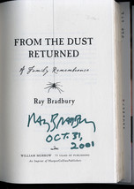 Ray Bradbury FROM THE DUST RETURNED dated, signed on Halloween - Look! H... - $171.50