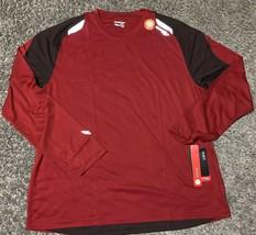 Saucony Epic Long Sleeve Red Running Shirt Men's XXL - $19.59