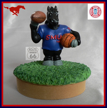 Smu Southern Methodist Mustangs Jar Free Shipping Coin,Candy Candle Jar - $11.02