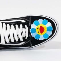 Vans Low top Custom 'Smiley Flower'  Available in all sizes for Men, Wom... - $175.00