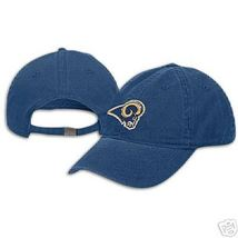 St.Louis Rams Football Womens Reebok Cotton Hat Cap New Free Shipping  - $20.35