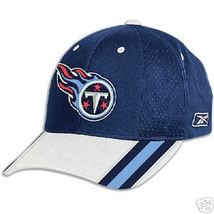 Tennessee Titans Football Old Classic Nfl Sideline Reebok Cap Hat Free Shipping - $17.96