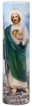 SAINT JUDE - LED Flameless Devotion Prayer Candle image 1