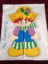 """Huckleberry Pie 20"""" Pillow Doll Fabric Pattern New & Uncut Strawberry Sh... - $14.01"""