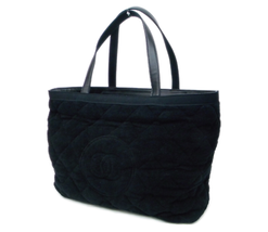 CHANEL Beach Black Tote Bag with Blanket and Pillow A73322 F/S Japan - $2,202.75