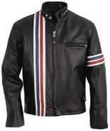 Easy Rider Captain America Peter Fonda Motorcycle Biker Vintage Leather ... - $179.99