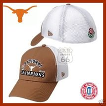 Texas Longhorns Free Shipping Ncaa 2005 Champs Football Rare Hat Cap Small Med - $19.34