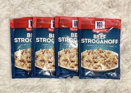 4x McCormick Beef Stroganoff Seasoning Mix 1.5 oz each Best By 05/05/2021 - $34.95
