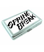 Spring Break D6 Silver Metal Cigarette Case RFID Protection Wallet - $11.83