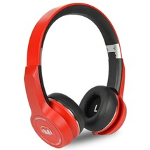 Monster ClarityHD Bluetooth Wireless Foldable On-Ear Headphones(Red) - $71.78