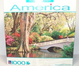 Magnolia Gardens South Carolina Puzzle New Atlantic Coast America Series - $9.99