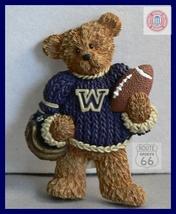 Washington Huskies Football Basketball 3 D Magnet - $11.69