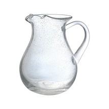Pfaltzgraff Bubble Glass Pitcher Glass Pitcher - $33.86