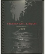 VINTAGE 2009 Stephen King Library Desk Calendar - $19.79