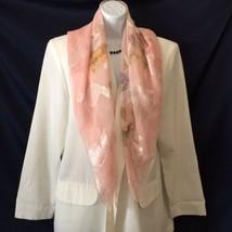 $30 One Size NWT New Women/'s Liz Claiborne Black /& White Silk Scarf