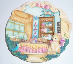 Home Sweet Home Cat Kitty 3-D Collector Plate Bradford Exchange Retired - $59.95
