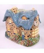 Thomas Kinkade Cottage Garden Ceramic Cookie Jar Canister 2005 Everetts Birthday - $18.76