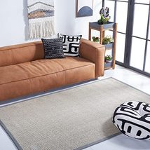Safavieh Natural Fiber Collection NF475A Premium Sisal Area Rug, 9' x 12... - $300.00