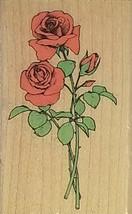 Hero Arts Long Stemmed Roses Rubber Stamp #D701