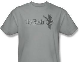 The Birds T-shirt Free Shipping vintage retro horror movie cotton tee UNI206 image 1