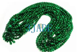 "32"" Green Jade/Jadeite 108 Meditation Prayer Beads Mala   image 4"