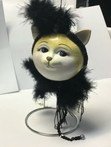 Katherine's Collection flapper cat ball ornament roaring 20's  - $39.99