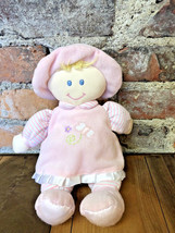 "My First Doll Toys R Us 12"" Plush Stuffed Lovey Toy Blonde Hair Pink Dre... - $24.74"