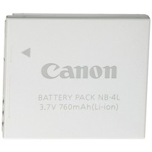 Canon(R) 9763A001AA Canon(R) NB-4L Replacement Battery - $79.99