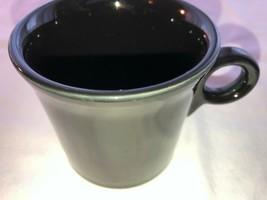 Black Fiesta Coffee Mug in Mint Condition 10.2 oz - $15.99