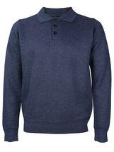 E-38 Italy Men's Slim Fit Luxury Wool Zip Up Pullover Hoodie Cardigan Sweater image 7