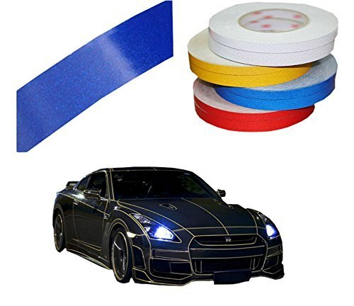 PANDA SUPERSTORE Motorcycle Car Automotive Reflective Tape Car Vehicle Reflectiv
