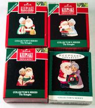 4 Hallmark Collector's Series Keepsake Miniature Ornaments The Kringles ... - £12.24 GBP
