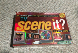 TV Scene It The DVD Board Game Trivia 2005 Mattel Brand New Factory Sealed - $27.62